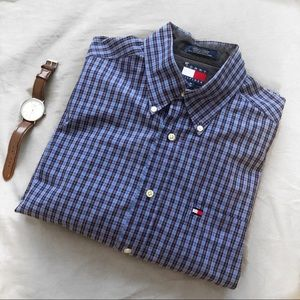 Tommy Hilfiger Button Down Long Sleeve Shirt